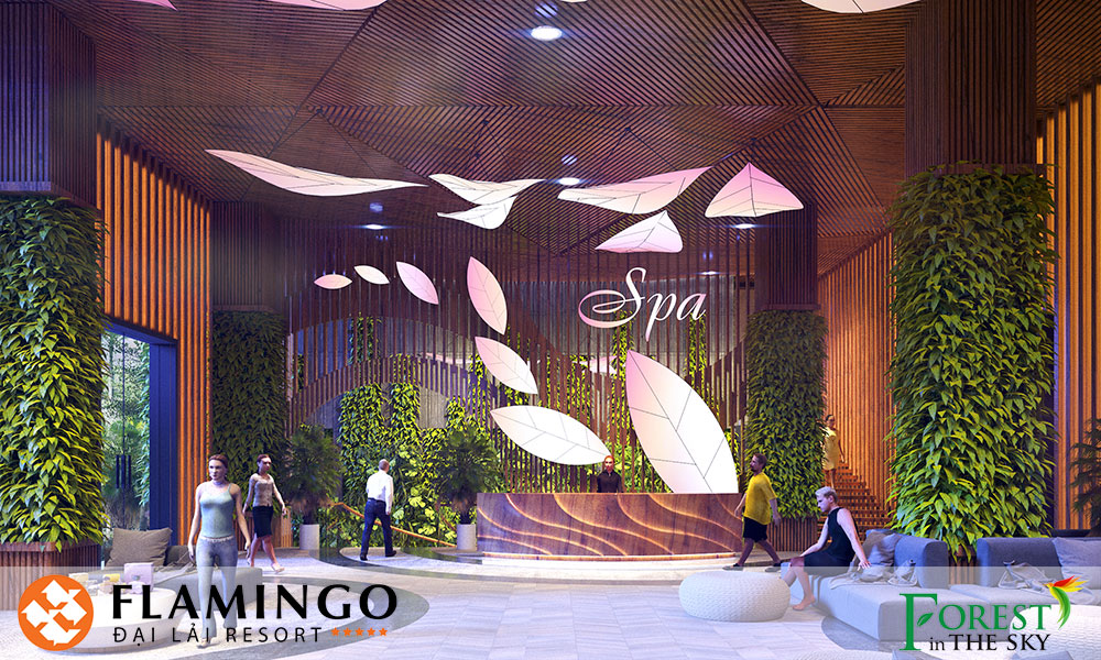 Spa Forest in the Sky Flamingo Đại Lải